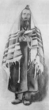 Modlitewny strój Chasyda