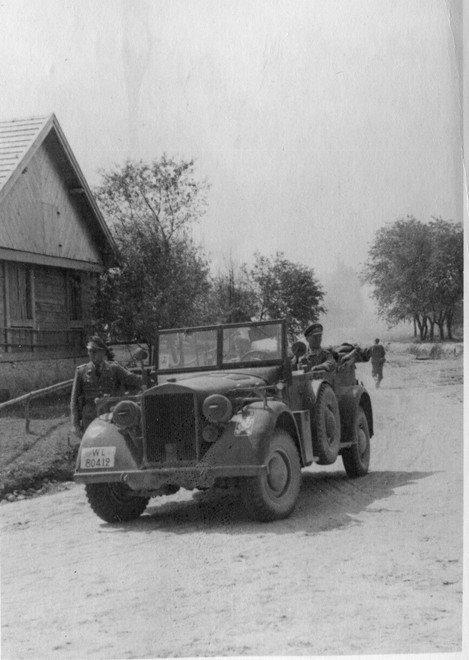 1941 Niemcy w Rawie.