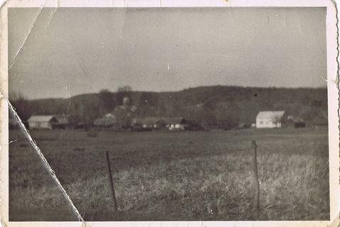 029 Widok z Borku, poczatek lat 60-tych.