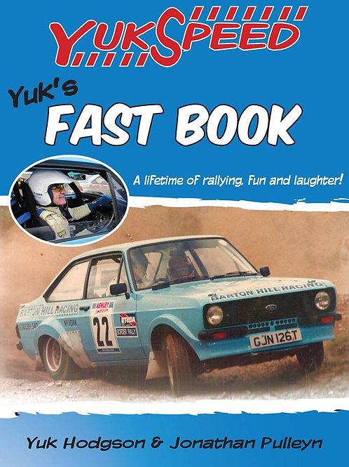 Yuk's Fast Book.Sweat shirts, T shirts and hats.
