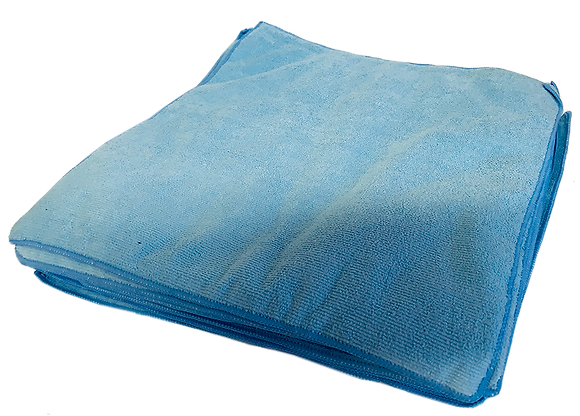 Microfibre Cloths Blue (Bulk pack of 25)