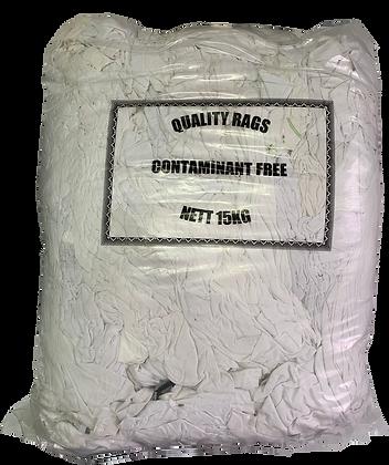 White Grade #1 Rags - 15 Kg