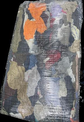 Rags T-shirt coloured cotton - 15kg