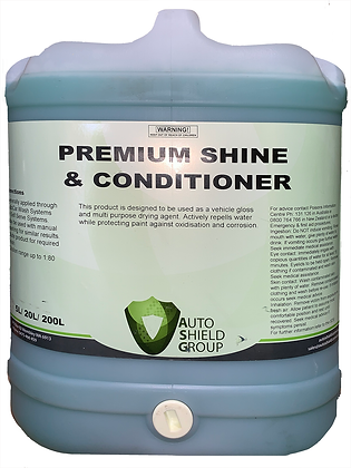 Premium Shine and Conditioner - 20L