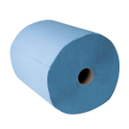 3 ply Blue Cleaning Cloth - 1000 sheet roll