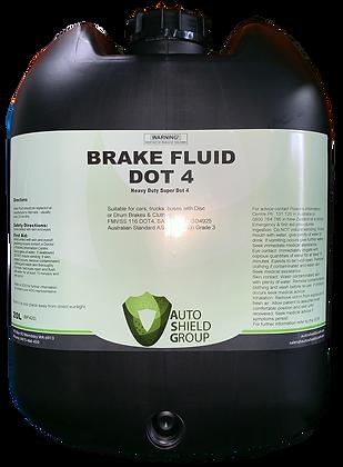 Brake Fluid Dot 4 - 20L
