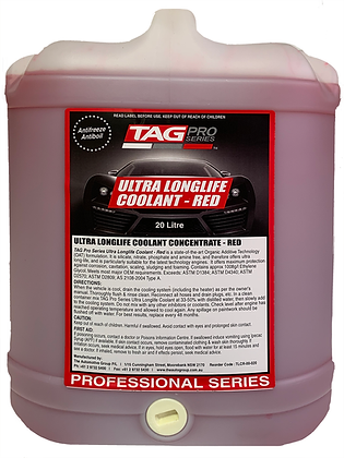 Coolant Long Life Red Concentrate 20L