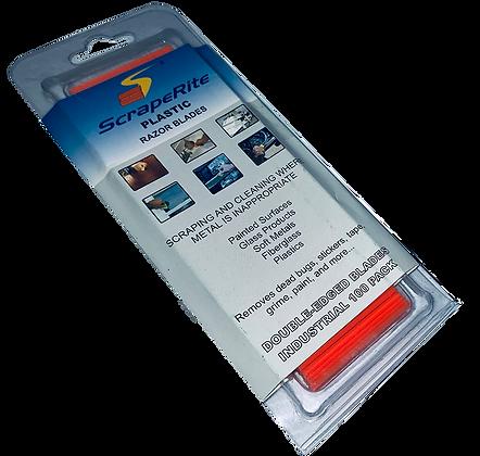 Scraper blade - PLASTIC (Pack of 100)