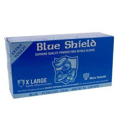 Nitrile Glove Blue Shield (100 pack)