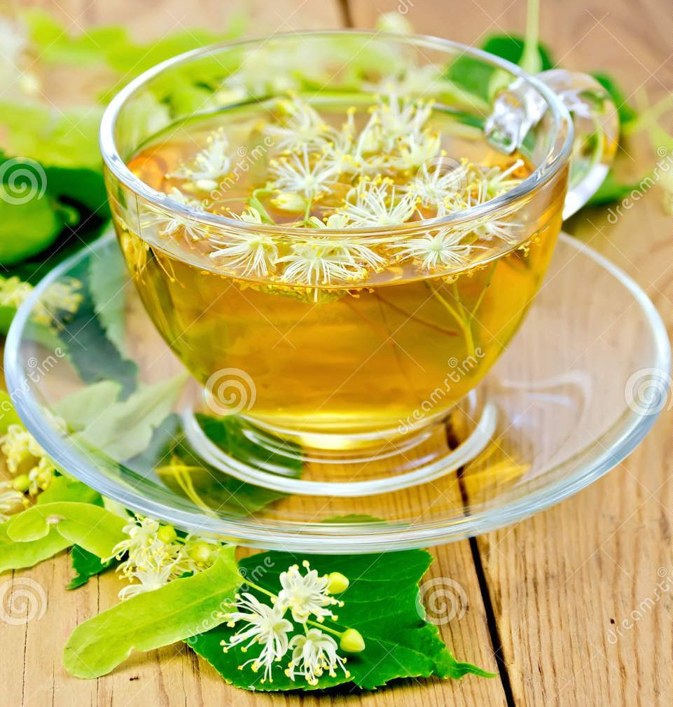 чай с липовым мёдом