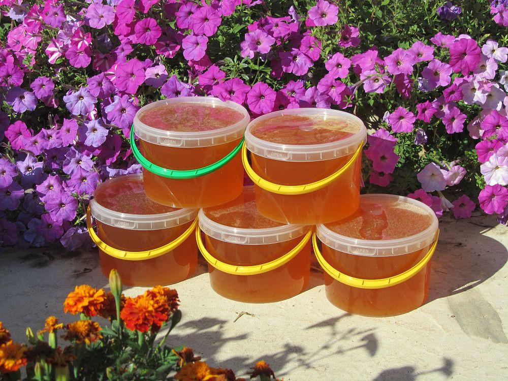 Мёд из луговогоразнотравья.