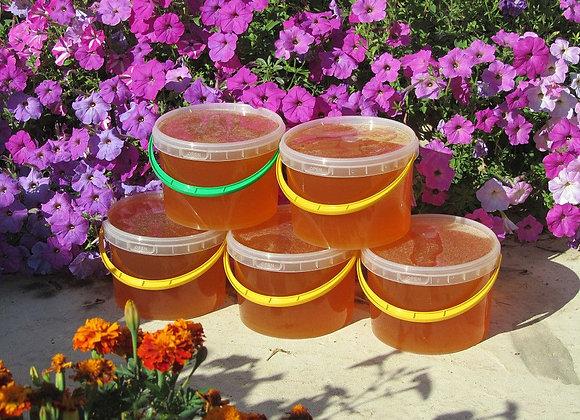 Мёд луговое разнотравье 1,4 кг.