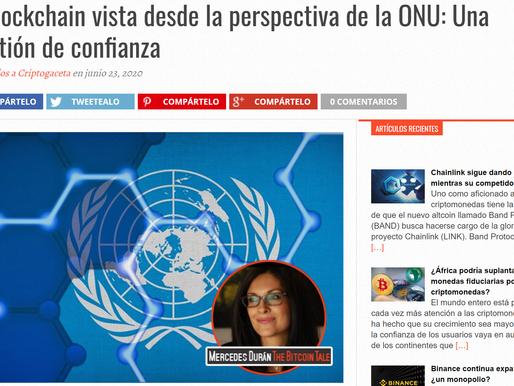 La blockchain vista desde la perspectiva de la ONU: Una cuestión de confianza