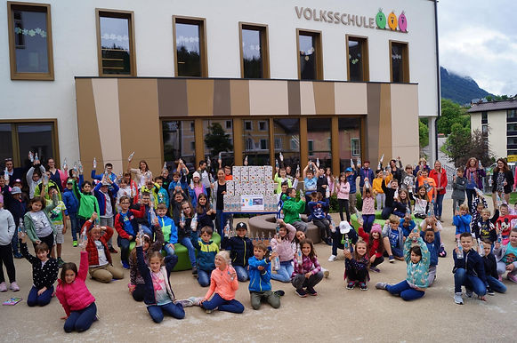 Trinkwasser-Aktion in der Volksschule Bad Aussee