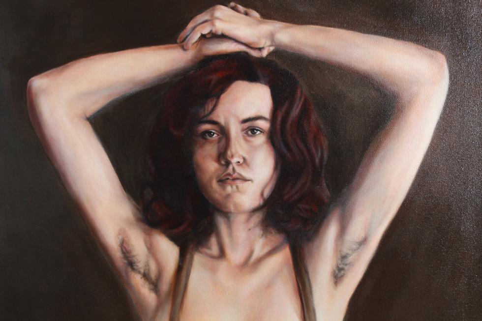 Portrait 12 (raised arms)