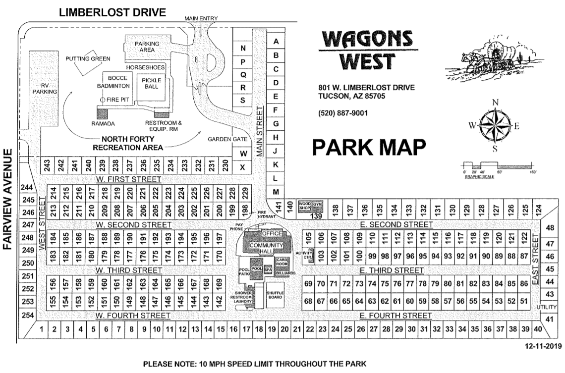 Wagons West Park Map