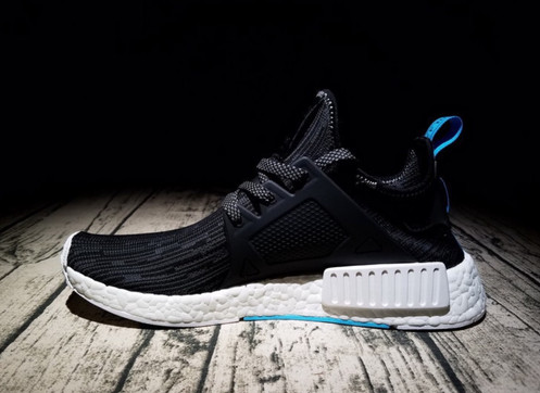 5f0d975776953 Adidas NMD XR1 Blue Black Stylish Highstreet shoes. Size available from  Eur36 to Eur45