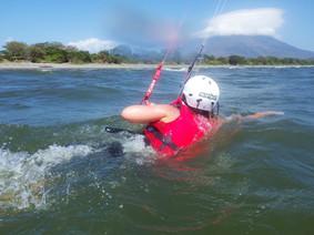 Body drag en kitesurf