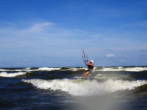 kitesurf en Nicaragua