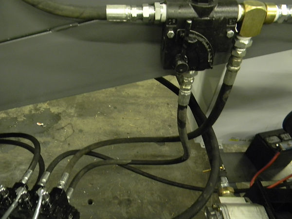 This picture shows a control valve on one of our litter conveyors