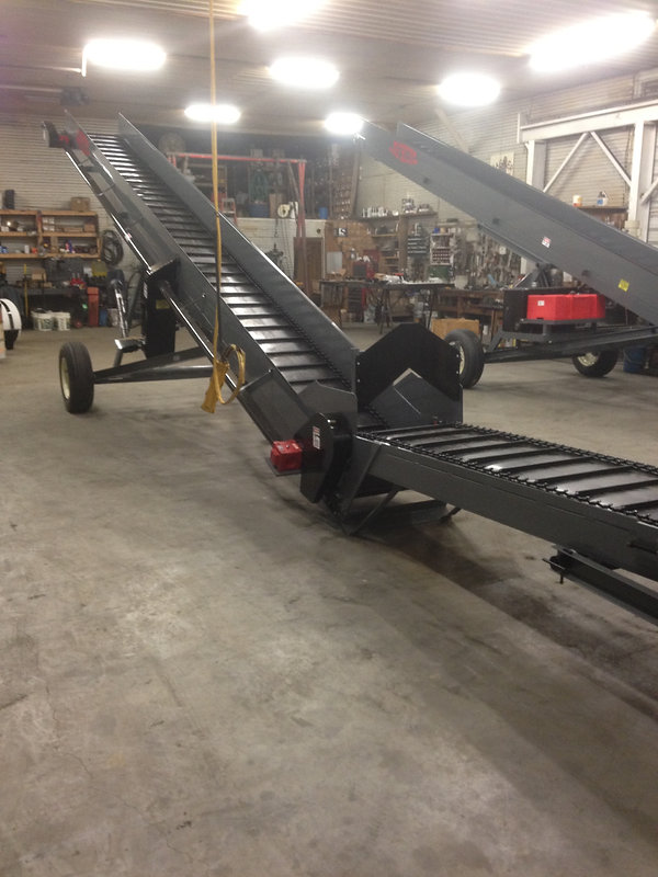 Being a farmer we try not to ever run out of work.  Building litter conveyors gives us a job in out of the weather.