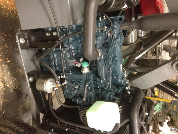 A closer look at a self contained power unit.