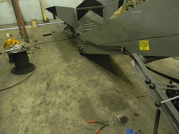 Another picture showing the details on Wagner Litter Conveyors.