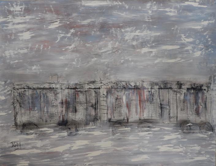 Sans titre (Wagon), 2014