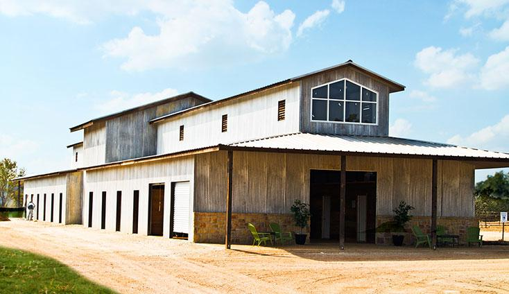 Equestrian Center Barn