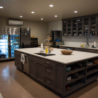 Commerical kitchen on private Hill Country ranch