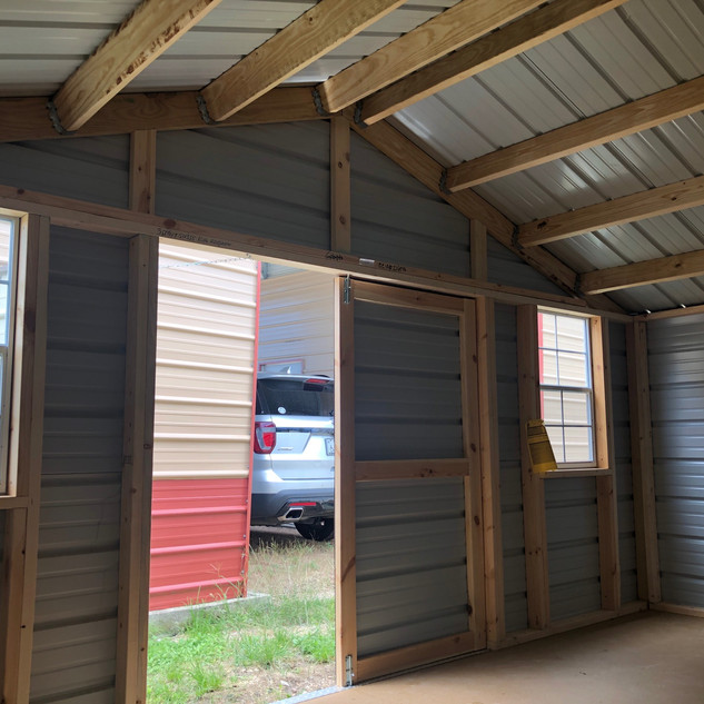 Side Utility Shed
