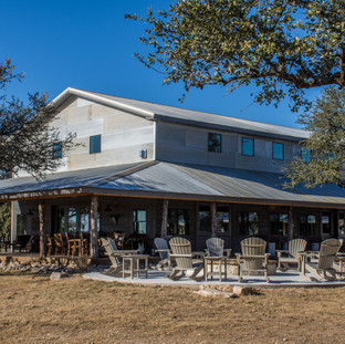 Saloon on private Hill Country ranch