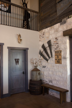 Masonry & Barnwood Interior