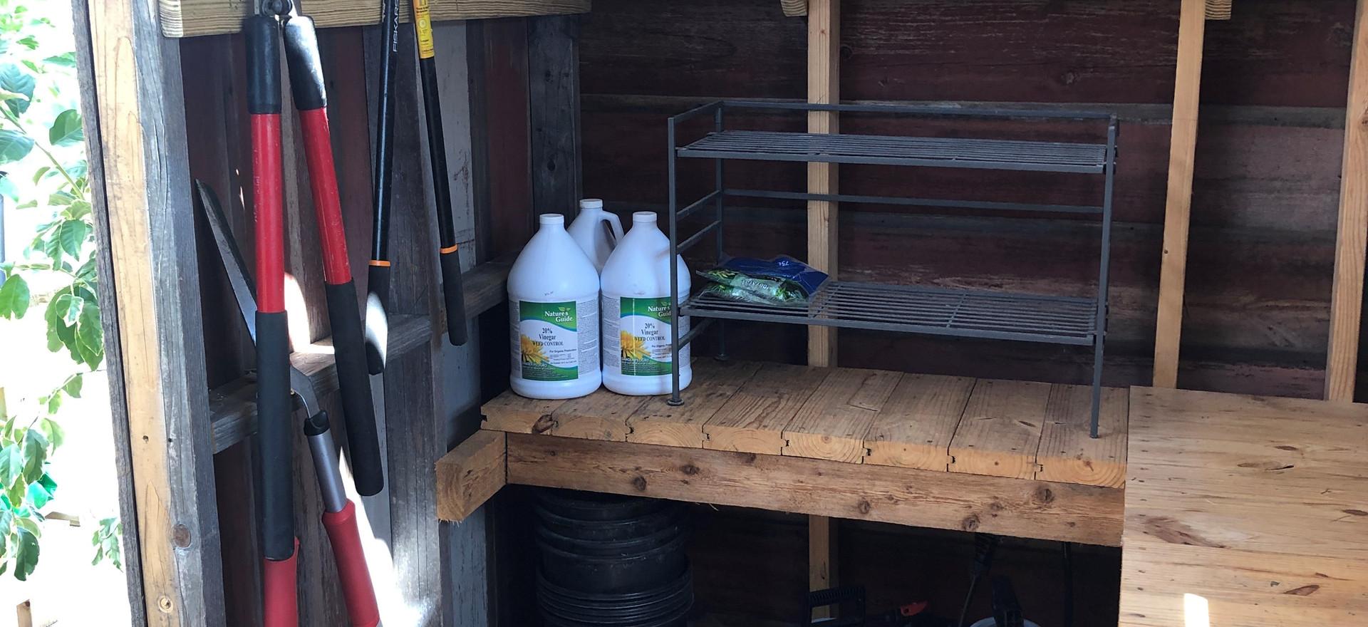 Greenhouse Potting Shed