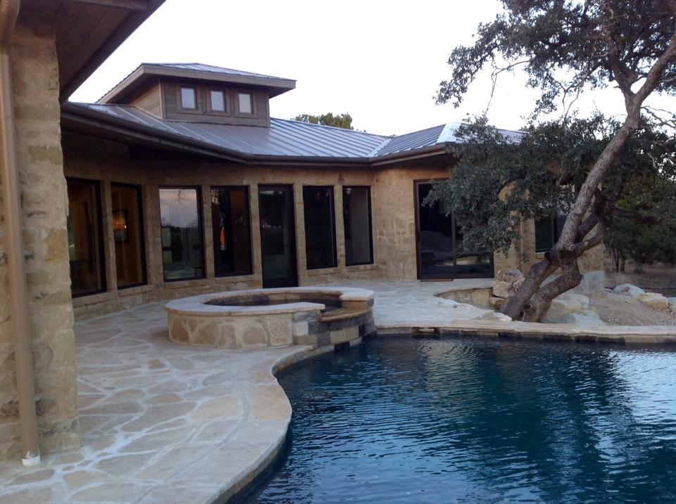 Pool of spec home