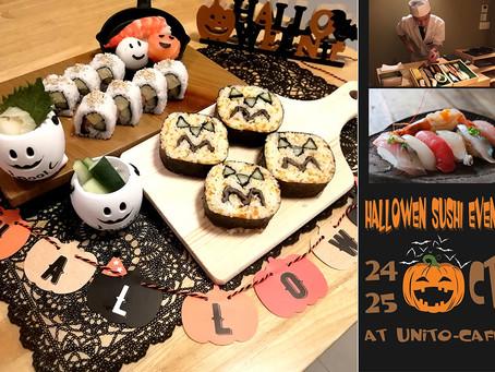 ハロウィン寿司をつくろう!Halloween Sushi! Workshop