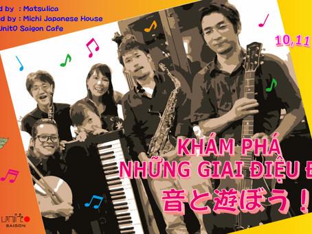 音と遊ぼう! Let's play with sounds KHÁM PHÁ NHỮNG GIAI ĐIỆU ĐẸP