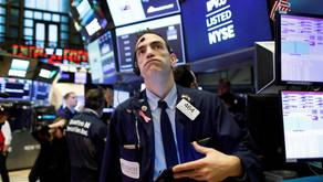 Bolsas caen al mantenerse incertidumbre por bonos del tesoro 📉