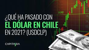 ¿Qué ha pasado con el dólar en Chile en 2021? (USDCLP)