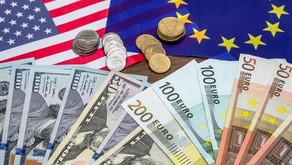 Euro cae a mínimos de dos meses