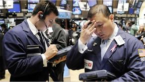 Wall Street en una montaña rusa  🎢🔥