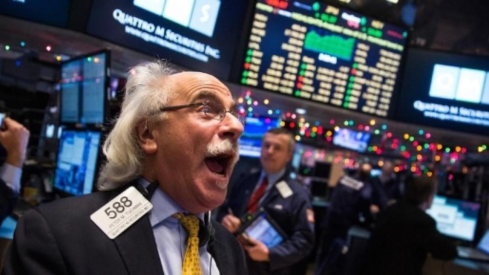 subida de acciones en wall street stock market
