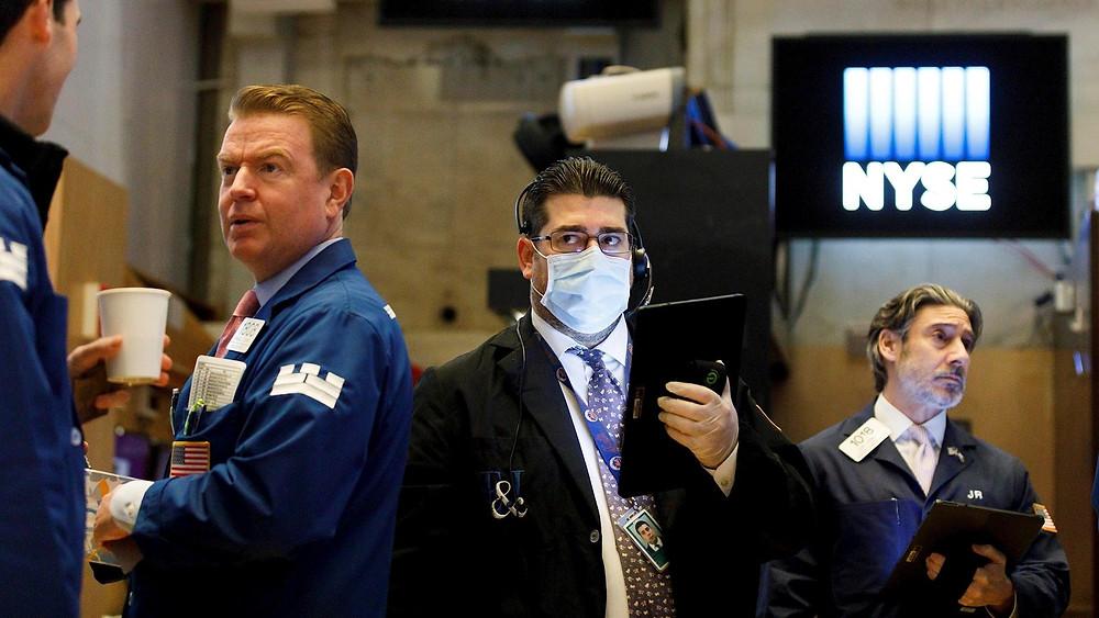 covid en Wall Street