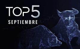 top 5 mercado financiero septiembre