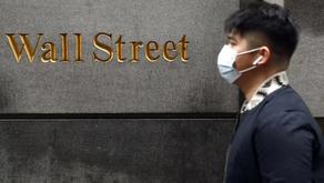 Wall Street cae en medio de mayores casos de Covid-19 📉