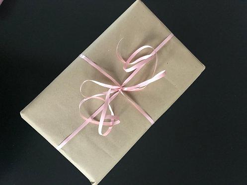Cadeau lint roze, 20m