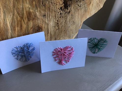 Handgemaakte kaarten