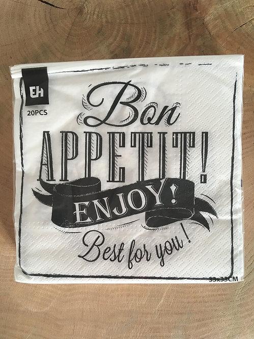 Servetten Bon Appetit