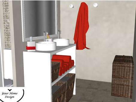 Een kleine badkamer in Utrecht