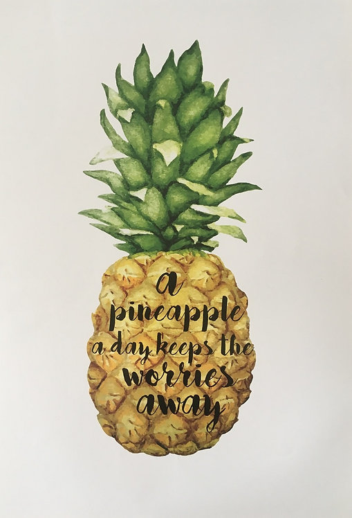 A pineapple a day...
